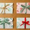 Una nueva forma inteligente para envolver las tarjetas de regalo