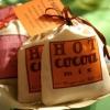 Favores nupciales de la mezcla del cacao