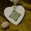 Favores nupciales: adornos de porcelana