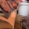 Parches de cemento y la restauración alféizar