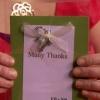 Embrujadas tarjetas de agradecimiento para los invitados a la boda