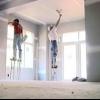 Cierre de las paredes: drywall que cuelga