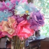 Flores de filtro de café