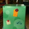 """""""Cool cubo"""" refrigerador del dormitorio"""