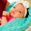 Proyecto de costura Fácil: cómo hacer una manta de bebé de doble cara