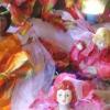 Muñecas de hadas de la flor