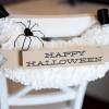 Decoración silla de Halloween