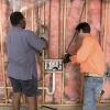 Cómo agregar paneles de yeso y repintado de un garaje