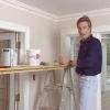 Cómo aplicar un tratamiento techo pintado en relieve