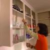 Cómo aplicar moldeo labio para gabinetes