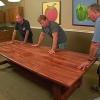 ¿Cómo construir una mesa de la cena