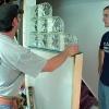 ¿Cómo construir una pared de bloques de vidrio