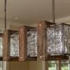 ¿Cómo construir una lámpara de araña botella de vidrio