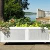 ¿Cómo construir una cama jardín elevado de una vieja plataforma de envío