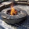 ¿Cómo construir un pozo de fuego de piedra redonda