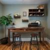¿Cómo construir un escritorio de oficina rústico