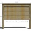¿Cómo construir un cabecero de madera rústica