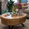 ¿Cómo construir una mesa de café muñón