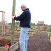 ¿Cómo construir un enrejado de calabazas