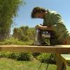 ¿Cómo construir una mesa de café losa de nogal