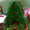 ¿Cómo construir un árbol de Navidad pieza central de madera