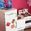 ¿Cómo construir aparatos de juguete para la cocina de un niño