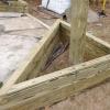 ¿Cómo construir jardineras triangulares