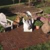 Cómo crear un patio de ladrillo
