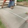 Cómo decorar el concreto con un patrón de ladrillo