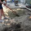 Cómo instalar un patio de adoquines en suelo de hormigón o desnudo