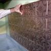 Cómo instalar un protector contra salpicaduras de cobre