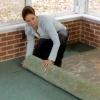 Cómo instalar un piso de baldosas climatizada