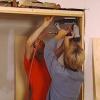 Cómo instalar un nuevo marco de la puerta