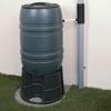 Cómo instalar un desviador de agua de lluvia y un barril de lluvia