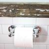Cómo instalar un soporte de papel higiénico en baldosas