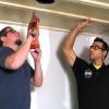 Cómo instalar un techo de tablón de lengüeta y ranura
