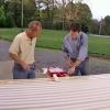 Cómo instalar postes cenador