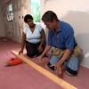 Cómo instalar suelo de tablones de bambú