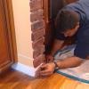 Cómo instalar revestimiento de ladrillos alrededor de una alcoba arqueada