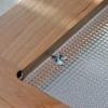 Cómo instalar inserciones de cristal del gabinete