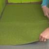 Cómo instalar suelo de baldosas de alfombras