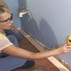 Cómo instalar moldeo piso