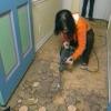 Cómo instalar el suelo de linóleo
