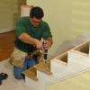 Cómo instalar nuevos escalones y barandas