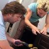 Cómo instalar gabinetes de la vanidad