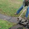 Cómo colocar una pasarela de piedra azul