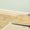Cómo poner un piso de madera de lengüeta y ranura