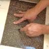 Cómo poner baldosas de terrazo