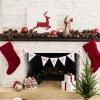 ¿Cómo hacer un 'ser feliz' bandera de la Navidad