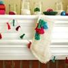 Cómo hacer una arpillera media de la navidad